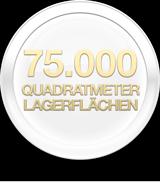 75000 Quadratmeter Lagerflächen